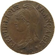 France 5 Centimes 8/5 W Lile Very Rare Top Quality T138 041
