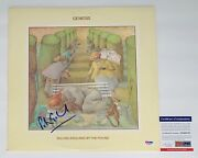 Peter Gabriel Signed Genesis Selling England By The Pound Record Psa Coa Ad48370