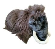 Folkmanis Wooly Mammoth Full Body Hand Puppet 16 Plush Toy Prehistoric Retired