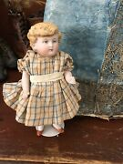 Antique Kestner Miniature Bisque Doll 360 0 Lovely Outfit 6andrdquo T Great Expression