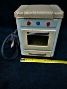Antique Miniature Child's Electric Toy Range Cook Stove And Oven From Germany