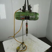 Pandh 1/2 Ton Wire Rope Electric Hoist 15and039 Lift 20 Fpm 208-230/460v 3ph W/trolley