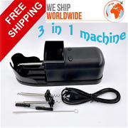 Tobacco Rolling Machine Diy Cigarette Rolling Automatic Electric Injector 3 In1