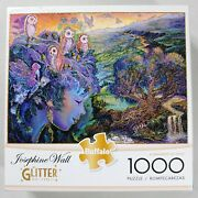 A Parliament Of Owls - 1000pc. Glitter Edition Jigsaw Puzzle - Josephine Wall