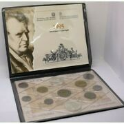 1995 Italy Republic Divisional 11 Coins Pack Genuine Mint Fdc Mf24449