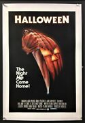 Halloween Original Movie Poster Blue Ratings Box - Curtis Hollywood Posters