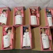 7 Days Of The Week Dolls Set In Boxes W Sealed Accessories Vintage New Old Stock