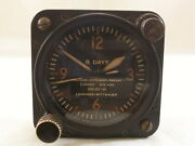 Longines Wittnauer U.s Army Type A-11 Aircraft Cockpit Two Barrels 8 Days Clock