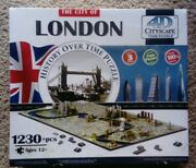 The City Of London History Over Time 4d Cityscape Time Puzzle 1230 + Pcs