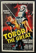 Tobor The Great Original Movie Poster Hollywood Posters