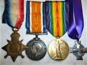 Cef Memorial Cross Group Medals 13th Battalion The Royal Highlanders Of Canada