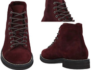 Brunello Cucinelli Ankle Boots Suede Lace-up Hiking Boots Trekking Shoes 42