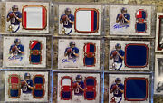 2013 Topps Eli Manning Museum Collection With Autos+pro-bowl Patches