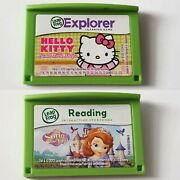 Leapfrog Leappad 1,2,3 Ultimate Ultra Xdi Leapster Gs Games Hello Kitty, Sofia