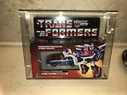 Smokescreen Afa 80 80/85/85 Archival 1985 G1 Transformers Vintage Sealed Tape