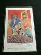 San Diego Comic Con 2000 Expo - Will Eisner Signed Print - 174/300 Lithograph