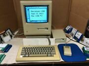 Macintosh 128k Computer, Recapped, Restored And Tested To Work As Should.