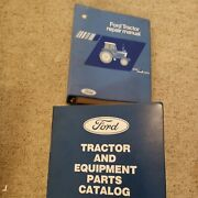 Ford Tractor Repair Manual And Parts Catalog Used But Still Useful
