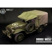 1/6 Go Truck Wc52 All Metal Dodge Wwii Military Truck