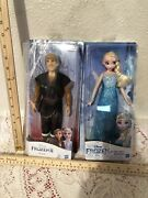 Disney Frozen Classic Dolls Collection Set Of 3 Elsa Anna And Kristoff Size 12