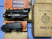 Lionel 1656 0-4-0 Switcher Boxed In Master Carton