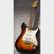 Fender Used 60th Anniversary American Standard Stratocaster Upgrade Hss Made I
