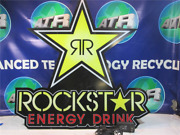 Rockstar Energy Drink Led Light Up Bright Neon Sign 30 X 28 Free Shipping