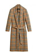 Antique Yellow Nova Check Dressing Gown Size Xtra Small Tall New