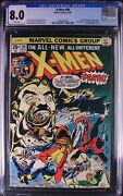 The X-men .94 Awesome Key White Pages Cgc Vf8.0 3905980009