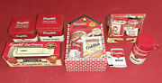 Campbell's Soup Collector's Lot Lunchbox Thermos Schoolhouse Boxed Sets Ertl