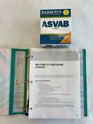 Barron's Asvab 450 Flash Cards 2nd Edition Kaplan Resources With Booklet Study