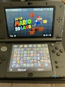 Nintendo New 3ds Xl Black 256gb Top Screen Ips With 65 3ds Games And 30 Gb/ds