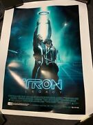 Final Proof Tron Legacy 44 X 33 White Block Edge Proof Poster Rare