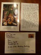 Christmas Letter Signed Cardinal Ratzinger + Sister Maria 1990 Pope Benedict Xvi