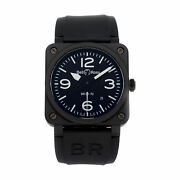 Bell And Ross Br 03-92 Black Matte Ceramic Auto 42mm Mens Watch Br0392-bl-ce