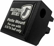 Bulletproof Hitches Trailer Hitch Pintle Attachment With Pin And R Clip