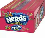 Nerds New Gummy Clusters Candy 3 Ounce Theater Box {lot Of 10 Boxes}