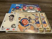 Cubs Collectables - Limited Numbered - Banks Santo Williamsandnbsp