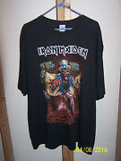 Iron Maiden 2016 Book Of Souls Tour T-shirt Madison Square Garden 3xl Uncle Sam