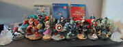 Disney Infinity Lot 26 Figures 1.0 2.0 3.0 Box Set Marvel Ps3 And Ps4