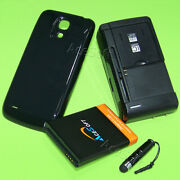 For Samsung Galaxy S4 Mini Sch-i435 Us 6300mah Battery Back Cover Charger Stylus