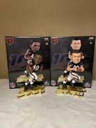 Sayers And Ditka Chicago Bears Rare Le Nib Nfl 100 Bobblehead Lot Of 2