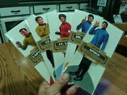 Set Of 5 Classic Star Trek Blank Note Greeting Cards With Quotes Stickers New