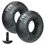 Two Tyk 23x8.50-12, 23x9.50-12 Inner Tubes Lawn Mower Tractor Tires Tr13 Valve