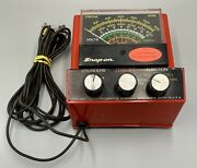Vintage Snap On Mt-926 Multimeter Ohms Volts Dwell Rpms - 4 5 6 8 Cylinders
