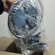 New Nos Vintage 1985 Retro 80s Holmes Air Blue Electric Table Fan In Box Q