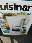 Cuisinart Grind And Brew 10 Cup Automatic Coffee Maker Nib