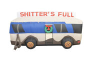 Shitterand039s Full Christmas Vacation Rv Inflatable Lampoonand039s New In Box Rare Eddie