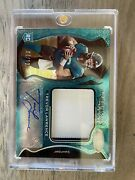 Trevor Lawrence Freshman Fabric Etched Teal /10 Ebay 1 Of 1 Fotl Exclusive