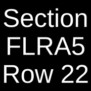 4 Tickets Red Hot Chili Peppers The Strokes And Thundercat 8/10/22 Atlanta Ga